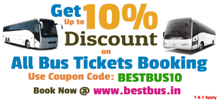 Bus Tickets Booking Offers