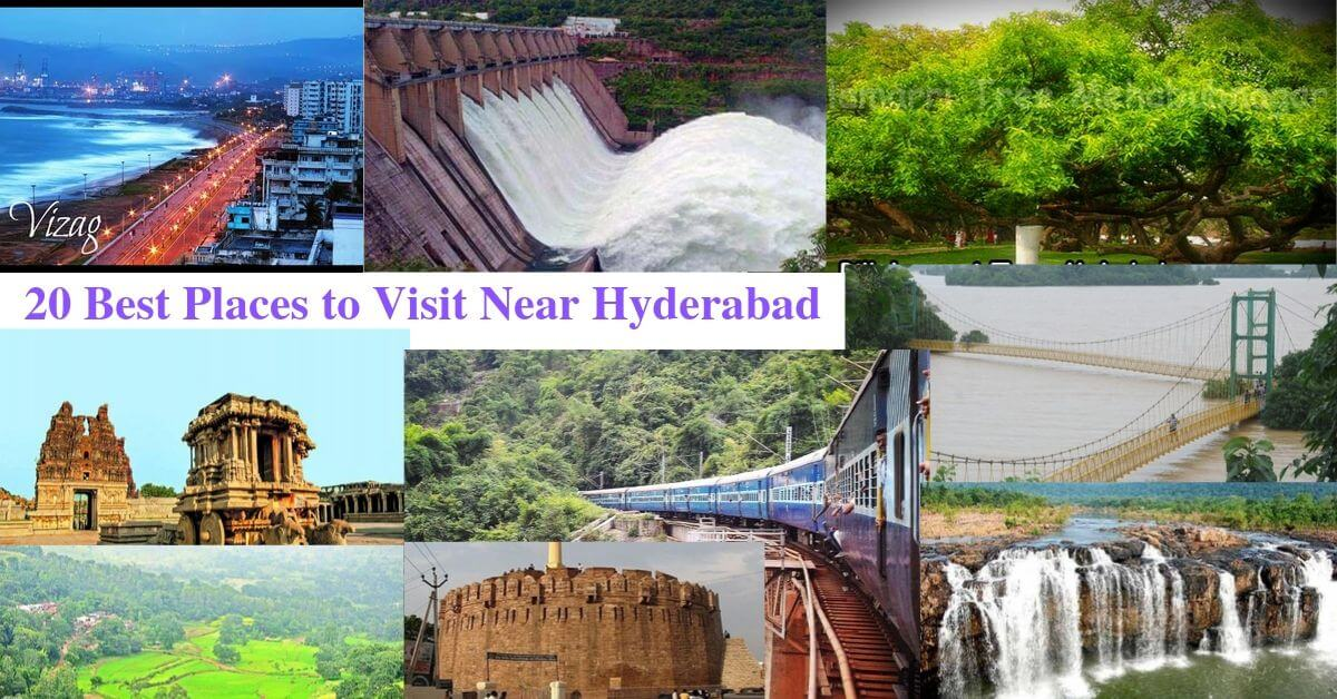 best places to visit near hyderabad