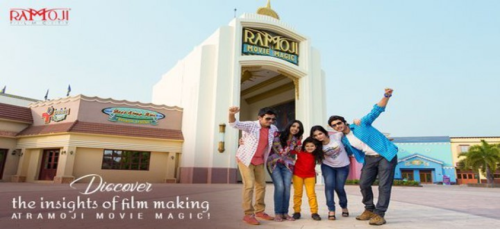 Free Rides Inside Ramoji Film City