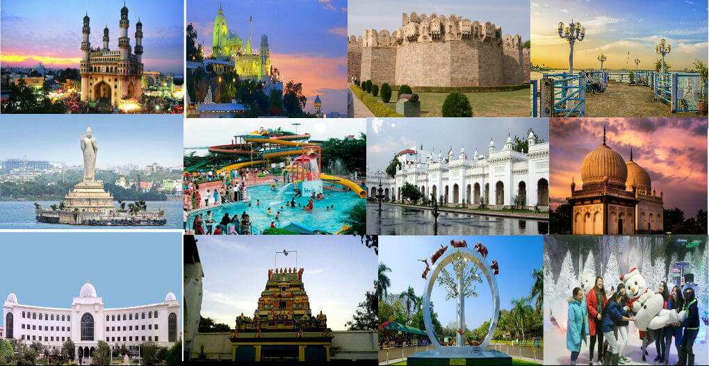 40 Top Tourist Attractions in  Hyderabad