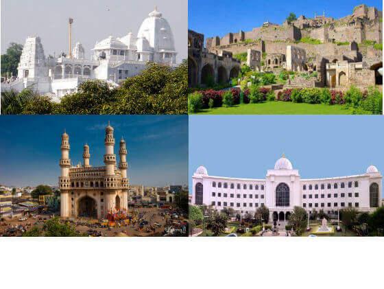 Hyderabad Darshan By Cab