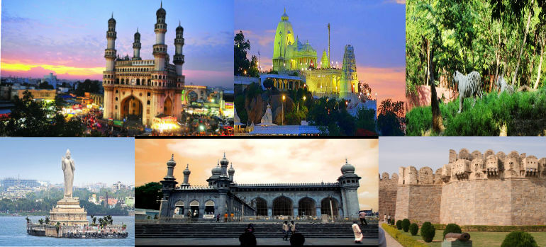 List Of Tourist Places in Hyderabad