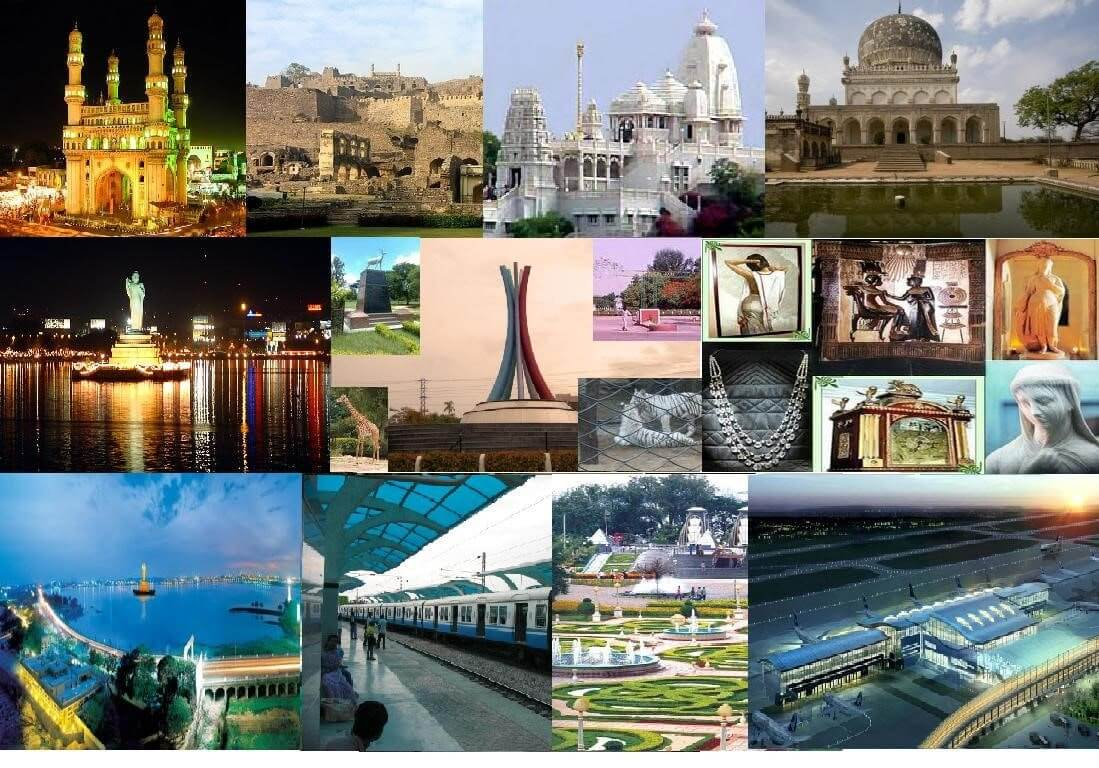Top 40 Visit Places in Hyderabad