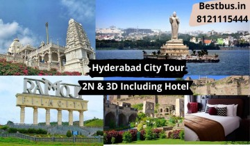 Spectacular Hyderabad Tour Package for 2 Nights-3 Days