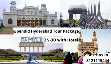 Spendid Hyderabad Tourism Package for 2 Nights-3 Days