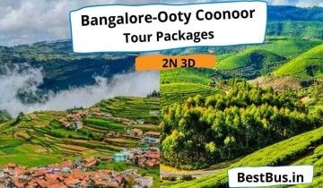 Bangalore To Ooty Coonoor 2 Nights-3 Days Tour Package By Car