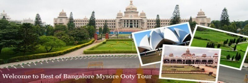 Bangalore To Mysore Ooty Tour Package By Car