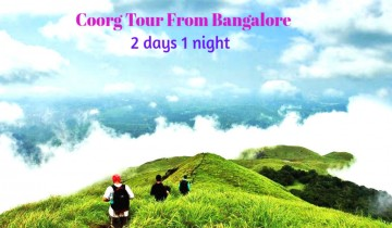 Bangalore to Coorg 1 Night-2 Days Tour Package By Car