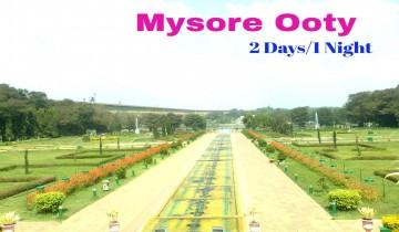mysore-ooty-bangalore