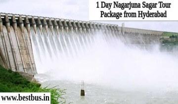 1 Day Nagarjuna Sagar Tour Package from Hyderabad