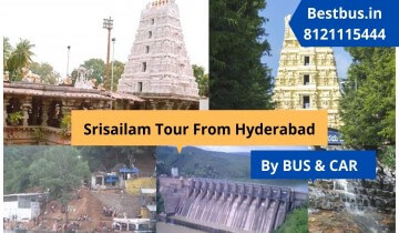 Heritage-cum-Devotional Hyderabad-Srisailam-Ramoji Film City Tour Package for 3 Nights-4 Days