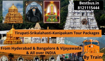 Hyderabad to Tirupati-Tirumala Package By Train With Special Darshan