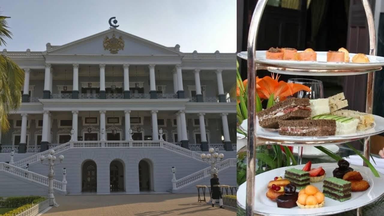 High Tea At Taj Falaknuma Palace