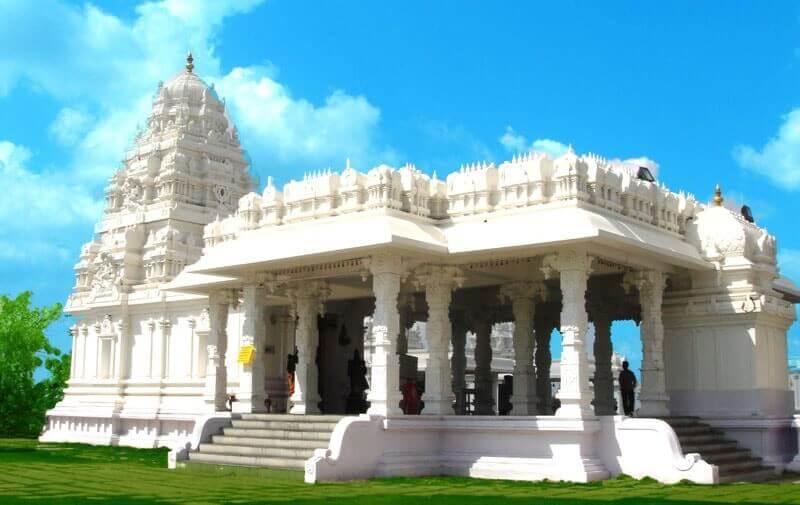 Sanghi Temple in Hyderabad